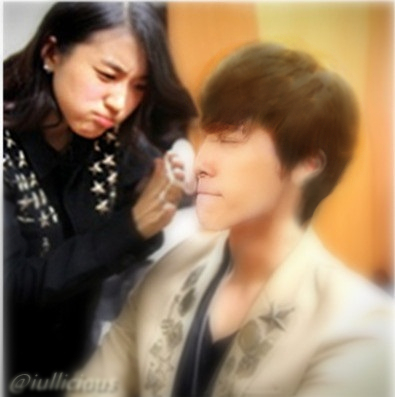 [JinHae Snapshot] The Unrevealed Backstage Moment